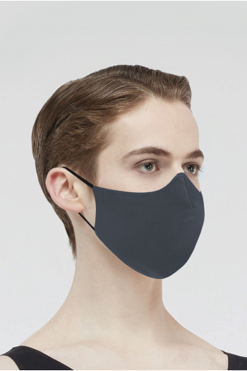 Mask Wear Moi MASK017 microfiber mask man dark grey