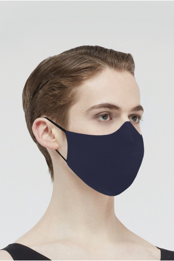 Masque Wear Moi MASK017 en microfibre homme navy