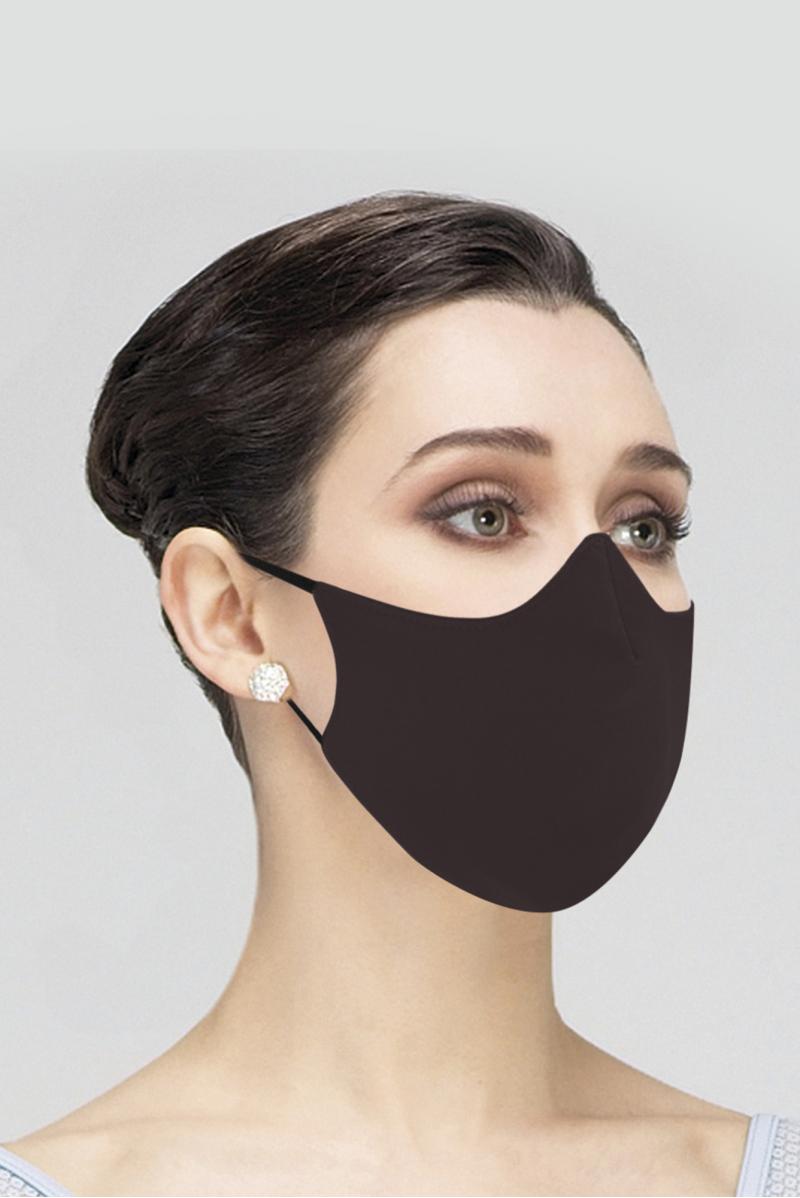 Masque Wear Moi en microfibre adulte navy