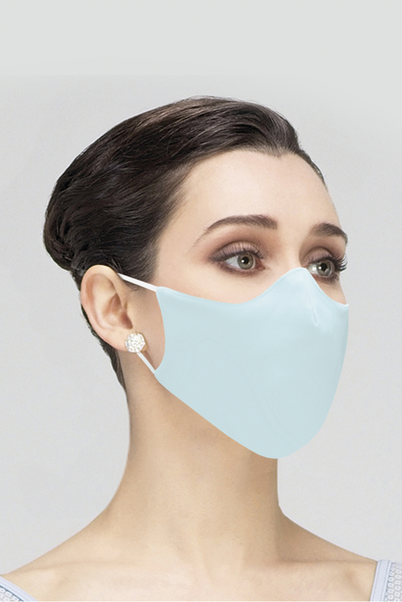 Masque Wear Moi en microfibre adulte pacific