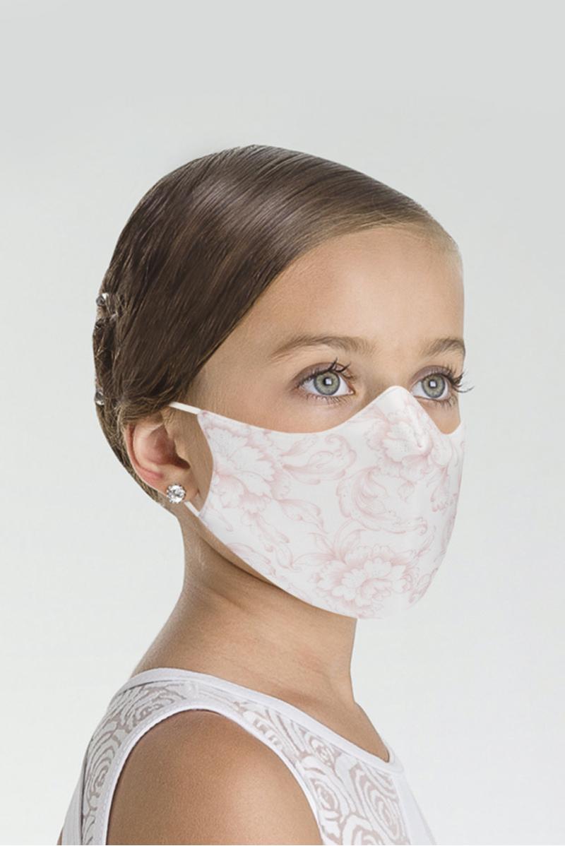 Masque Wear Moi imprimé enfant white