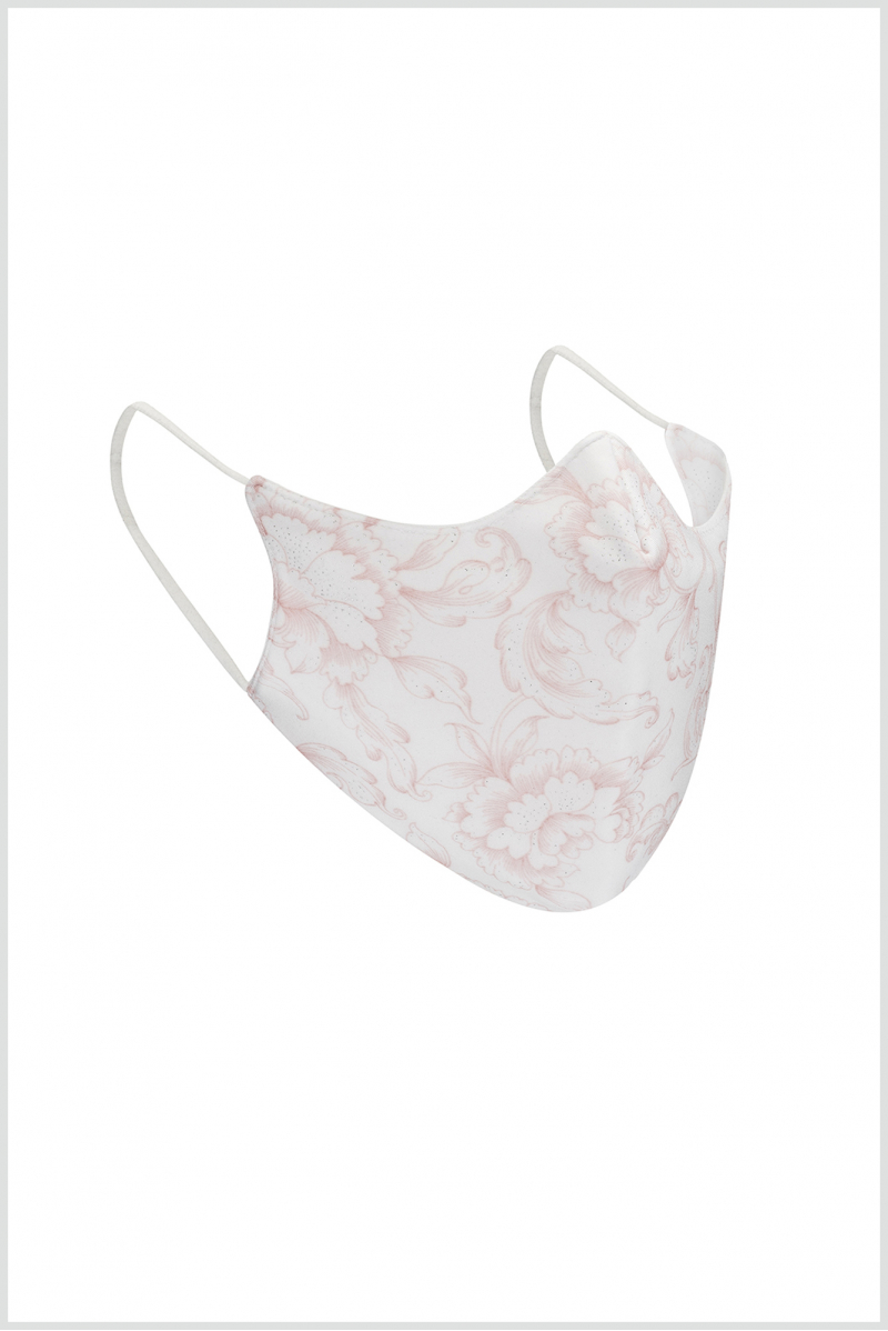 Masque Wear Moi adulte white imprimé