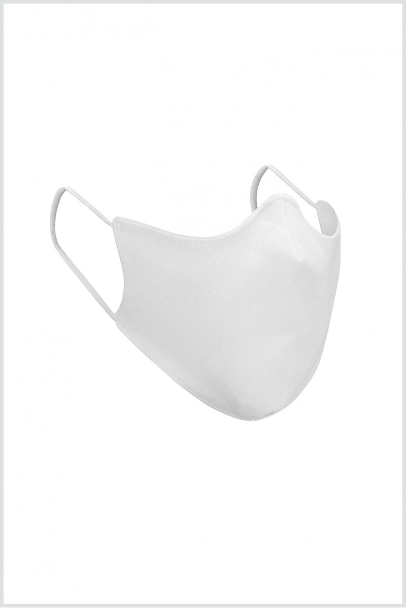 Masque Wear Moi en coton enfant white