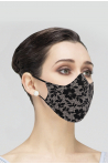 Masque Wear Moi adulte black/blue imprimé