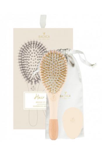 Hair Kit brosse-miroir Rose Bachca