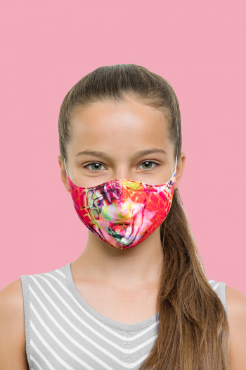 Masque Bloch anti-bactérien imprimé pour enfants A001C