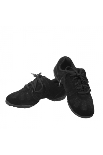 Sansha Dyna-eco black sneakers rubber sole