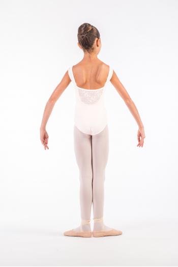 Justaucorps Ballet Rosa Camila blanc enfant