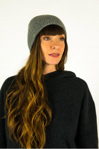 Hortense Absolut Grey Cashmere Hat