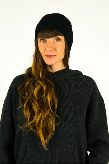 Hortense Absolut Black Cashmere Hat