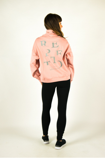 Sweat Shirt Repetto blush W0665
