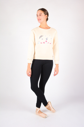 Sweat Shirt Zizi Rose Repetto SE489