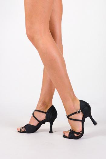 Chaussures de danse Elite Anna 70 satin noir