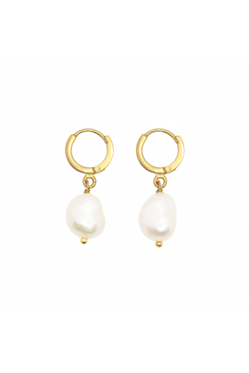Boucle d'oreilles Mini Perla Nilaï