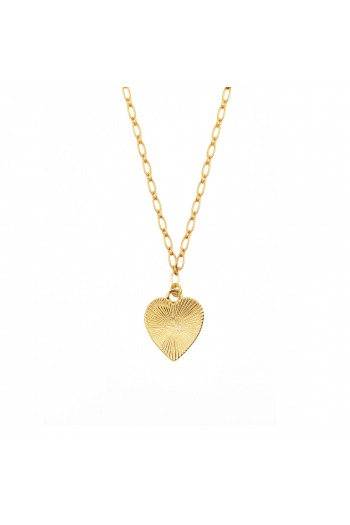Collier Love and Lucky coeur Nilaï