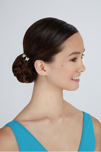 Bunheads butterfly hairpins