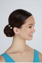 Bunheads flower hairpins