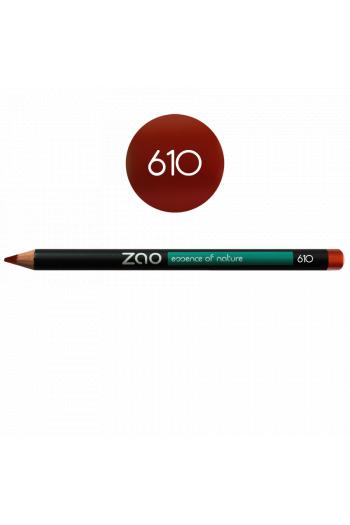 Crayon yeux Zao Make Up Rouge cuivré