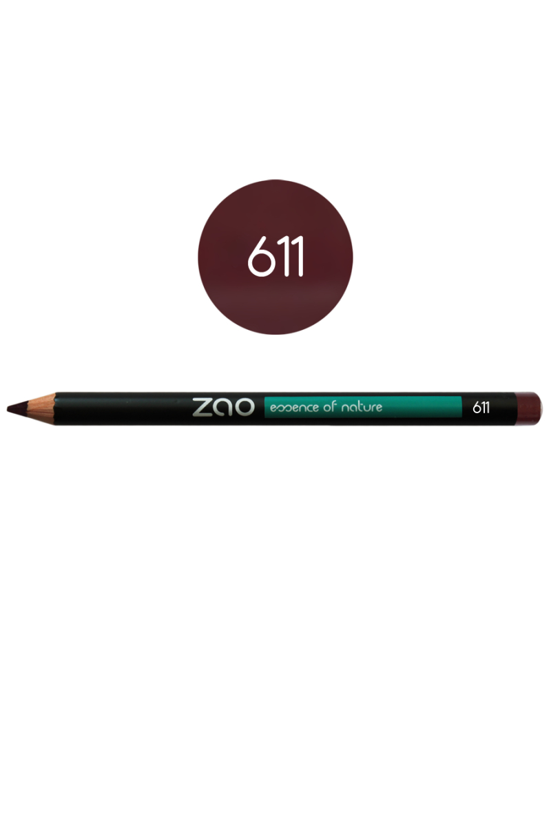 Crayon yeux Zao Make Up pourpre sombre