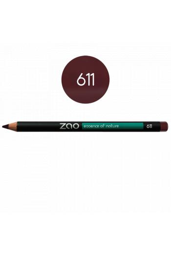 Zao Make Up pourpre eye pencil