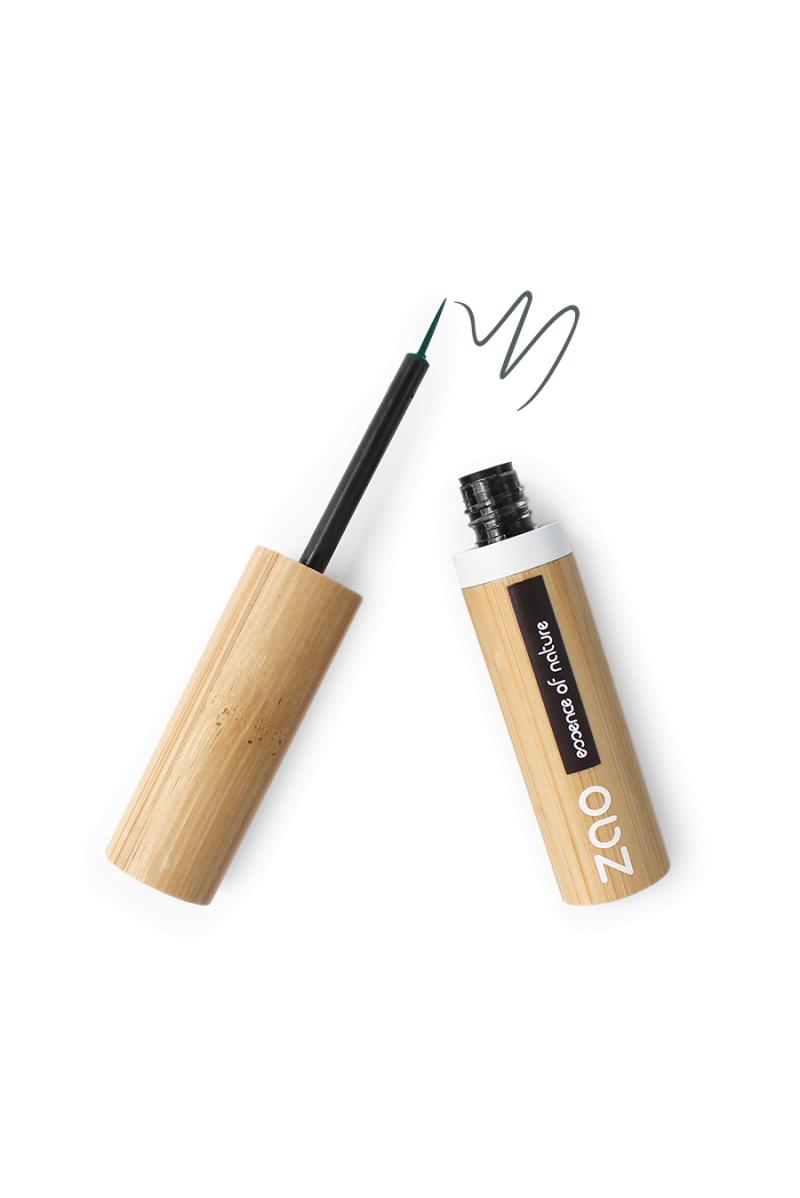 Eyeliner pinceau Zao Make Up vert kaki