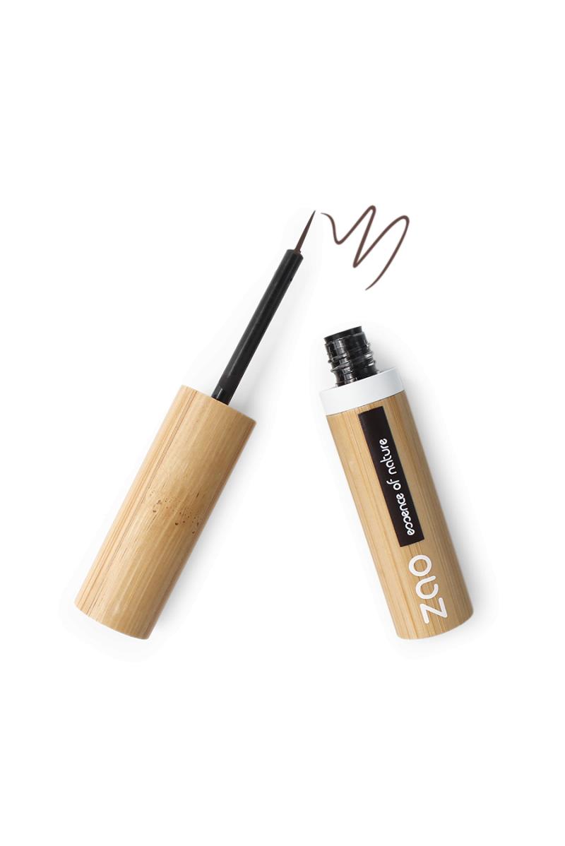 Eyeliner pinceau Zao Make Up brun foncé