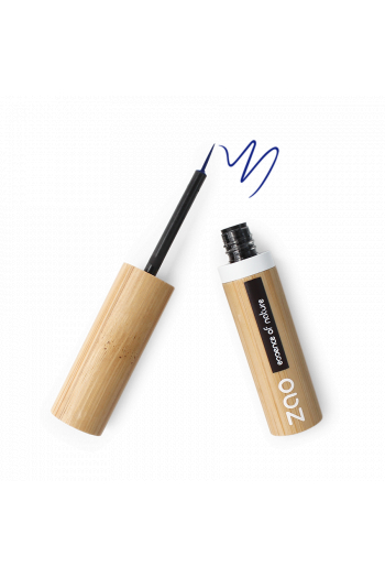 Eyeliner pinceau Zao Make Up bleu électrique