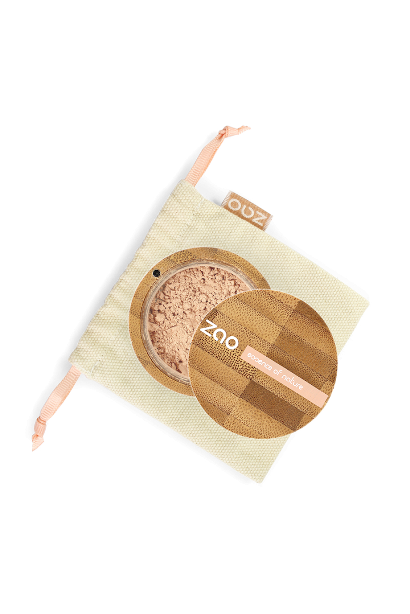 Minéral Silk matifiante beige doré Zao Make Up