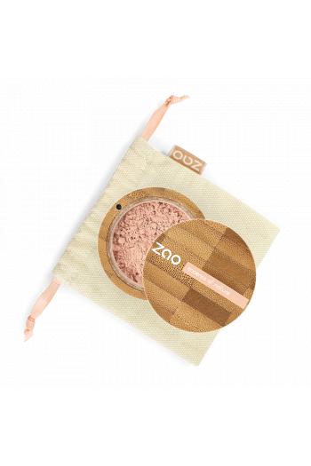 Mineral Silk matte pink beige Zao Make Up