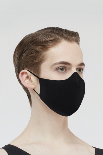 Mask category 1 Wear Moi MASK008 in cotton man black