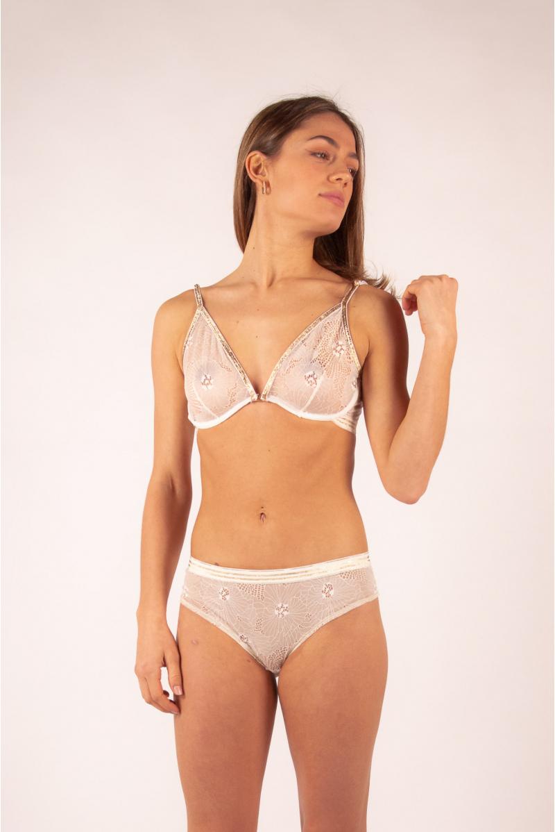 Tanga Inès La Nouvelle blush lurex