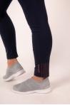 Legging high-stretch fishnet Repetto black