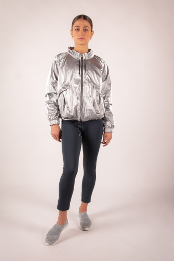 Nylon jacket Repetto S0490 eucalyptus