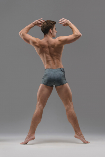 Short homme Ballet Rosa Baahir