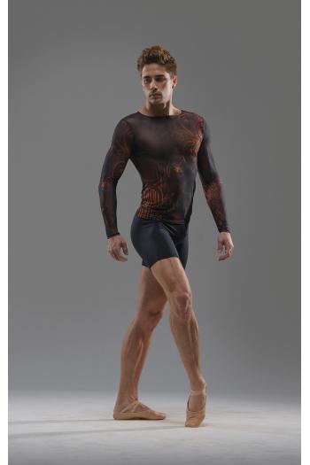 Tee-shirt homme manches longues mesh Ballet Rosa Luca