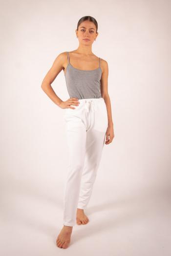 Pantalon 7/8 Majestic Filatures blanc