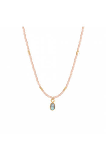 Collier Little India Nilaï labradorite