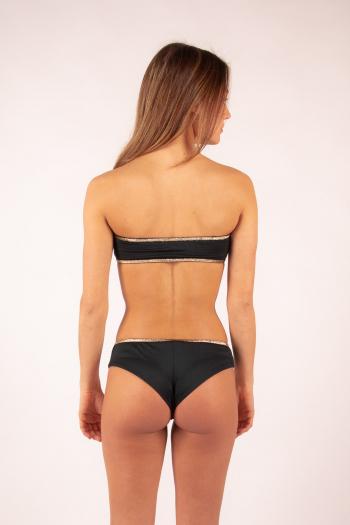 La Nouvelle tanga Inès black sun swimsuit