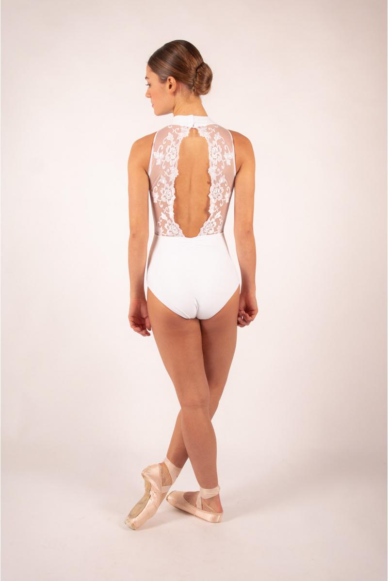 Ballet Rosa Amélie white Leotard Women
