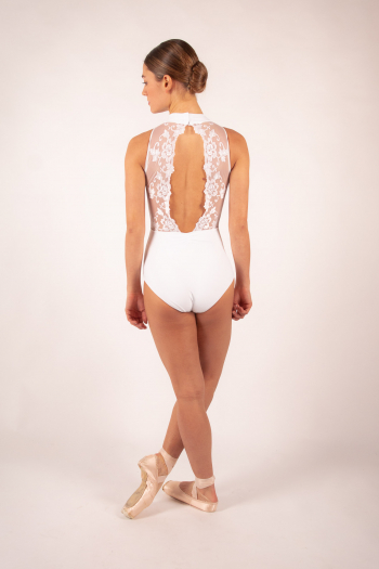 Ballet Rosa Amélie white Leotard Women