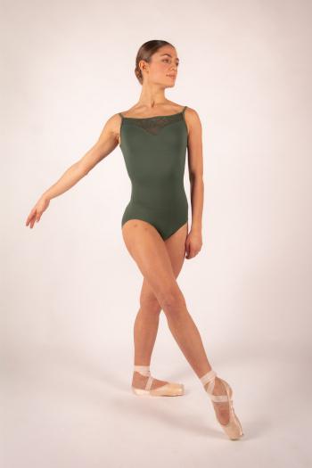 Ballet Rosa Aura olive leotard