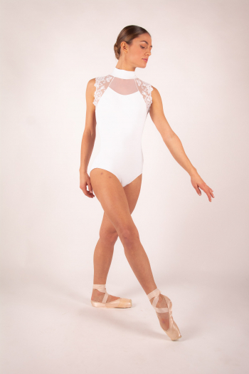 Leotard Berenice Ballet Rosa powdered pink woman