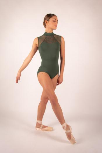 Leotard Ballet Rosa Anita olive