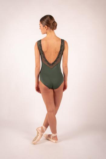 Justaucorps Ballet Rosa Novella olive/noir