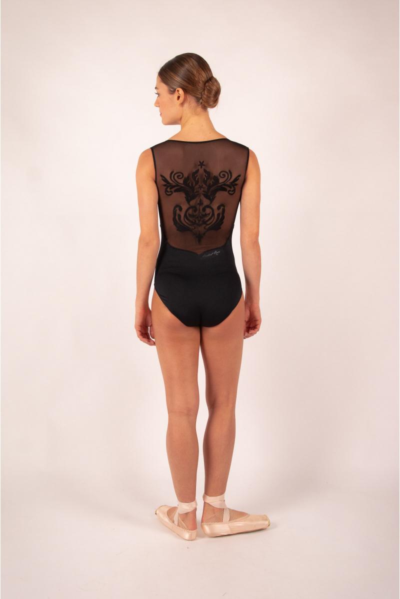 Leotard Ballet Rosa Crystale black