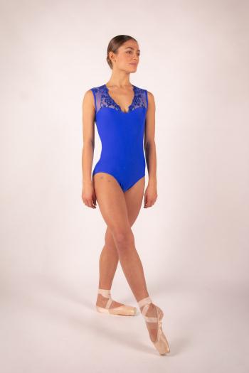 Justaucorps Ballet Rosa Emmeline royal
