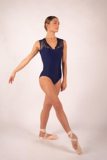 Leotard Ballet Rosa Emmeline navy