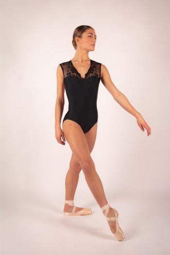 Justaucorps Ballet Rosa Emmeline noir
