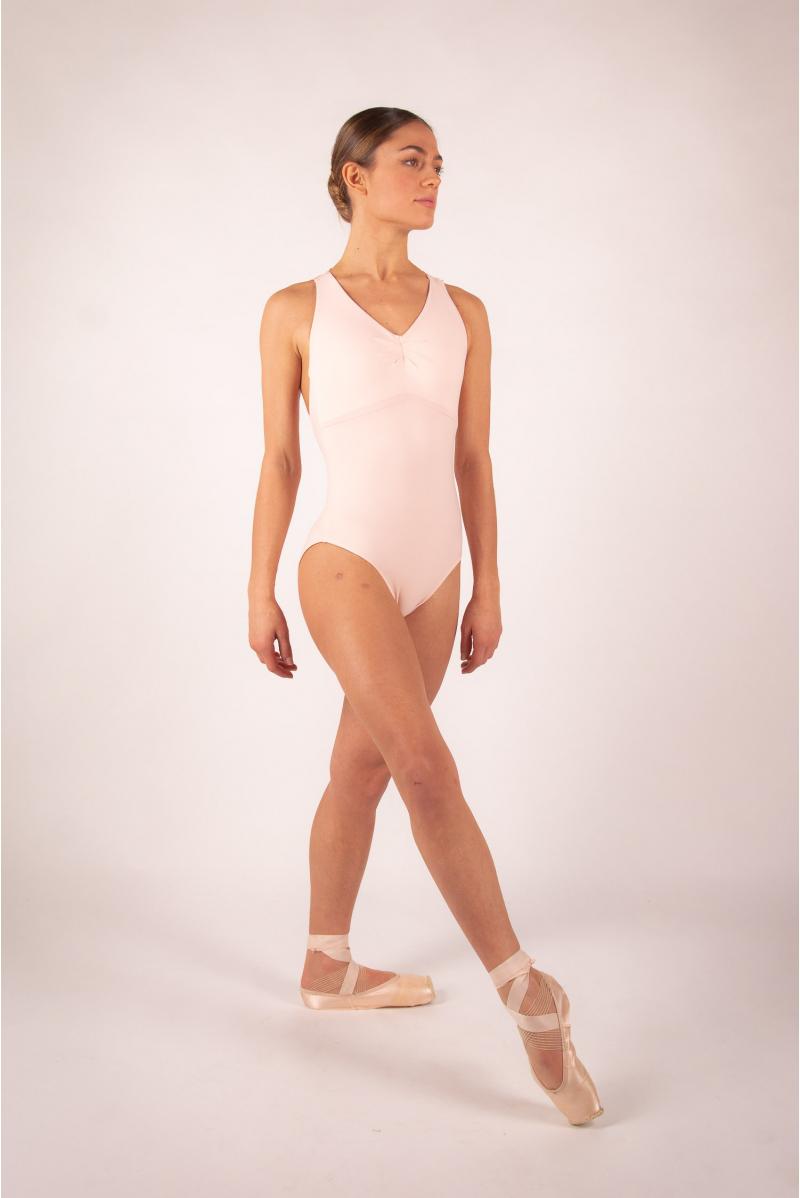 Leotard Ballet Rosa Esther powdered