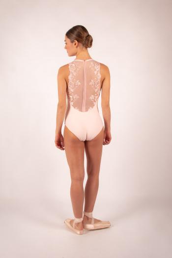 Justaucorps Ballet Rosa Esther poudré